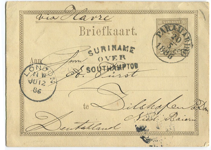 1879 p. stat. 7½c on 15c grey postal card