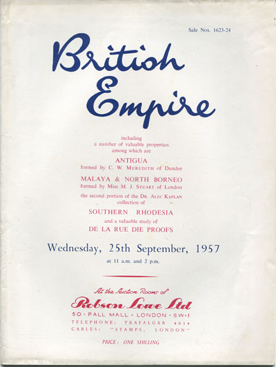 1957 (25 Sep) British Empire