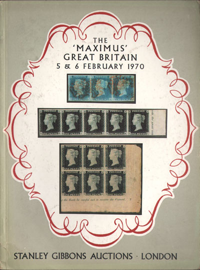 1970 (5-6 Feb) The Maximus Great Britain collection