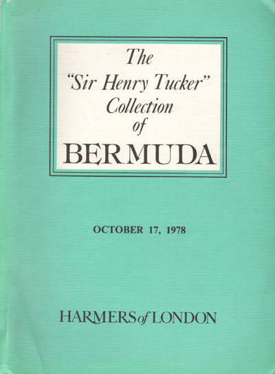 1978 (17 Oct) Sir Henry Tucker collection of Bermuda.