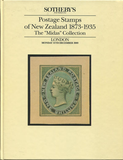 1989 (11 Dec) Midas collection of Postage Stamps of New Zealand