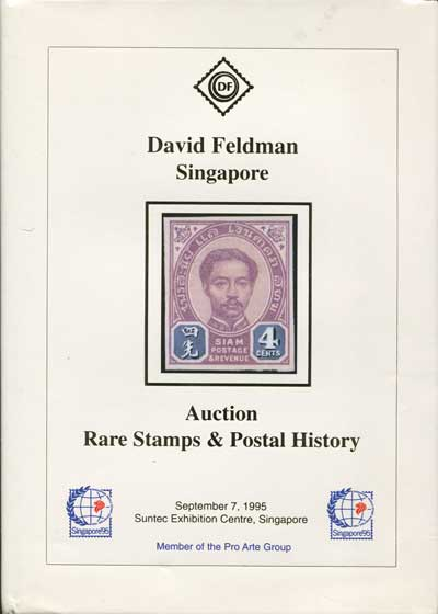 1995 (7 Sep) Auction of rare stamps and postal history