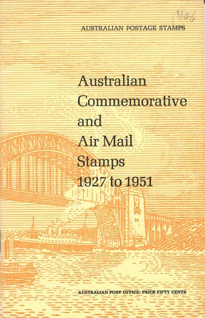 AUSTRALIA Australian Commemorative and Air Mail Stamps - 1927 to 1951
