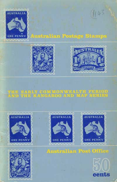 AUSTRALIA The Early Commonwealth Period and the Kangaroo and Map series