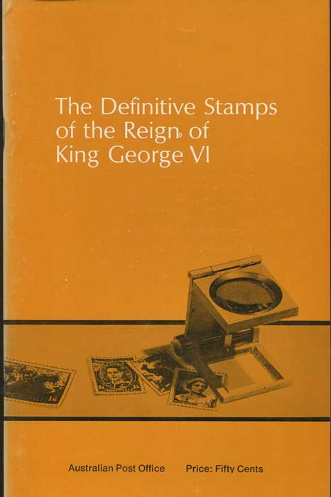 AUSTRALIA The Definitive stamps of the Reign of King George VI