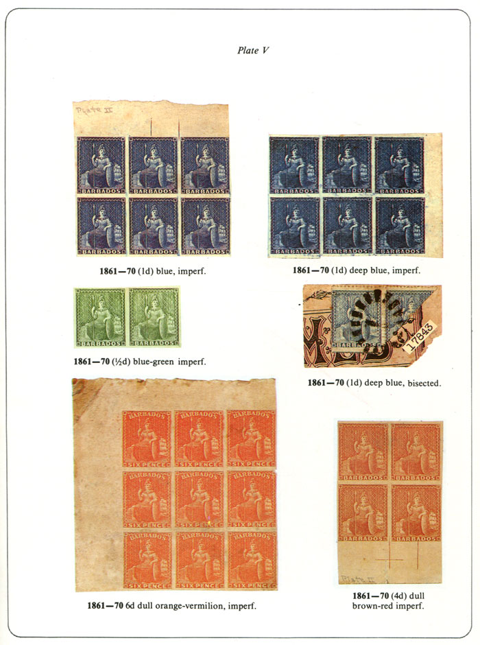 BAYLEY Edmund A. The stamps of Barbados