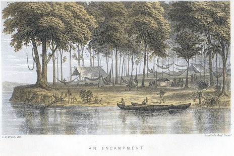 BROWN C.B. Canoe and camp life in British Guiana.