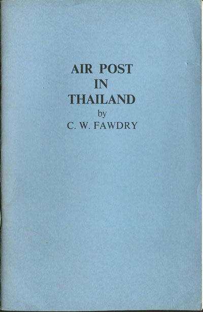 FAWDRY C.W. Air Post in Thailand