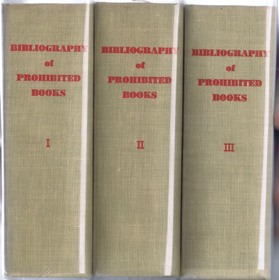 FRAXI P. Bibliography of prohibited books.