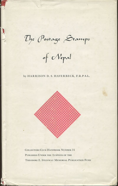 HAVERBECK H.D.S. The postage stamps of Nepal.