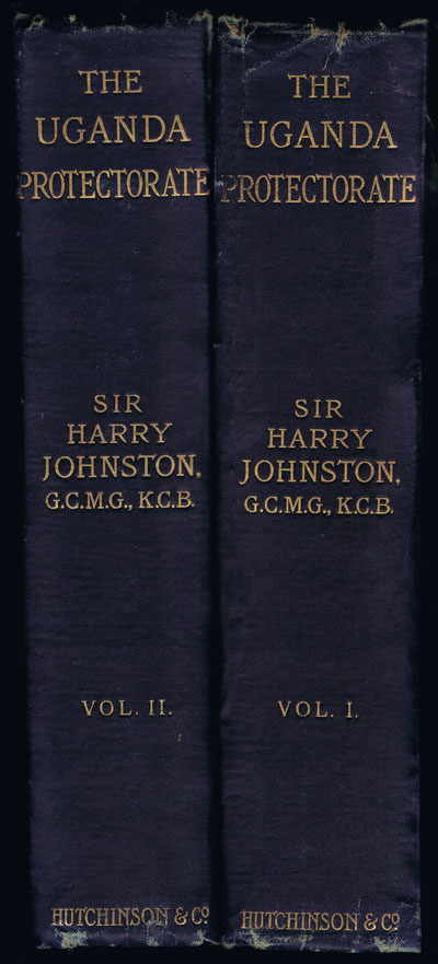 JOHNSTON Harry The Uganda Protectorate. - An attempt to give some description of the physical geography, botany, zoology, anthropology, languages and history of the territories under British protection in east central Africa, between the Congo Free State and the Rift Valley.
