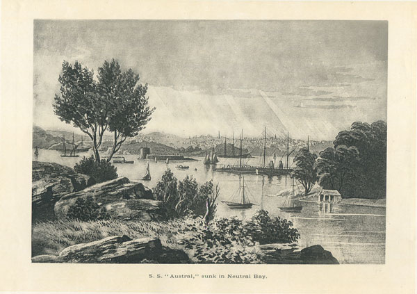 MYERS F. The Coastal Scenery, harbours, mountains, and rivers, of New South Wales.
