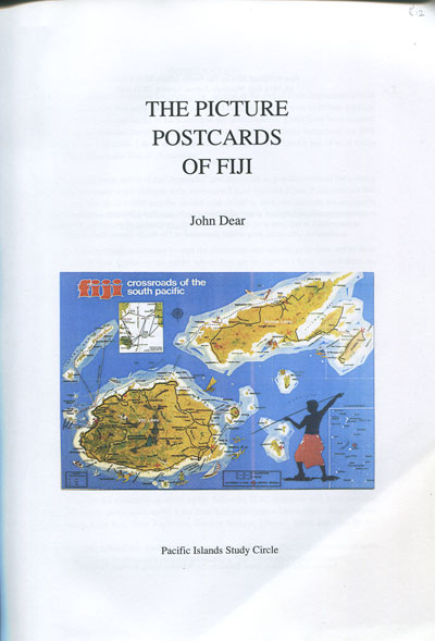 DEAR J. The Picture Postcards of Fiji.