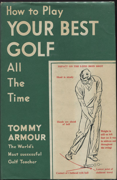 ARMOUR T. How to play your best golf all the time.