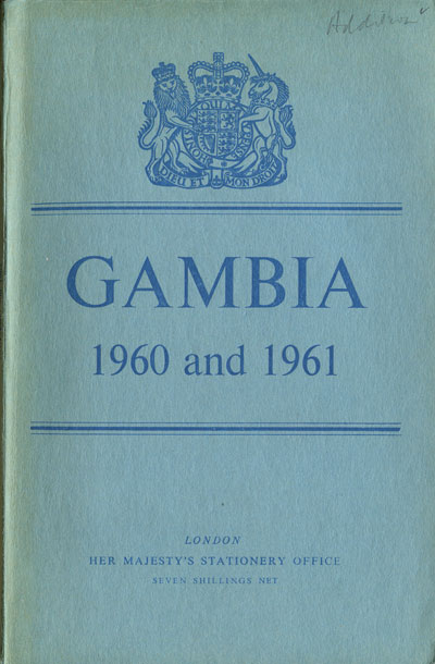 GAMBIA Report for the years 1960 and 1961.