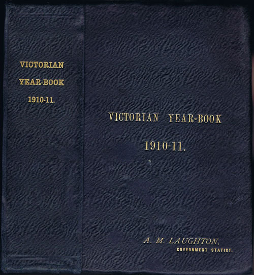 LAUGHTON A.M. Victorian Year-book 1910-11.