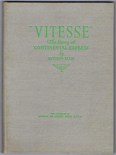 "ELLIS Aytoun Vitesse. The story of ""Continental Express"""