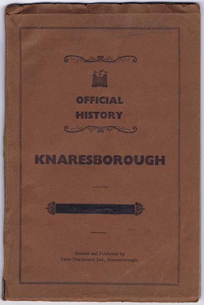 ANON Official History of Knaresborough.