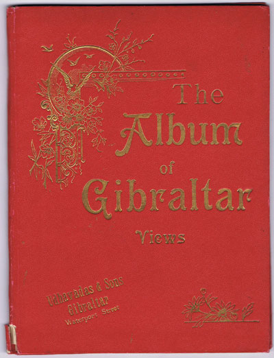UDHAVADAS & SONS The Album of Gibraltar Views.