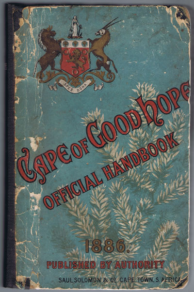 NOBLE John Official Handbook. History, Productions, and Resources of the Cape of Good Hope.
