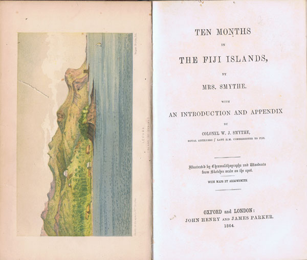 SMYTHE Mrs W.J. Ten Months in the Fiji Islands
