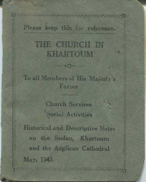 ANON The Church in Khartoum - To all members of His Majesty