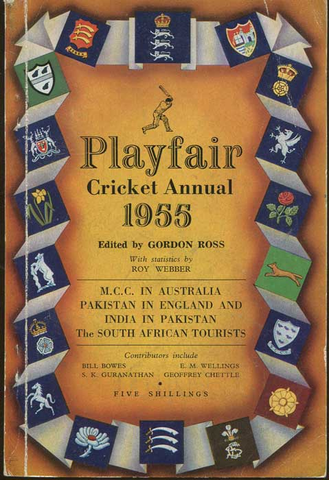 WEST Peter Playfair Cricket Annual 1955