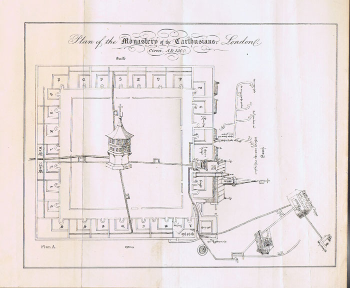 Notes illustrative of the Plans of the Charterhouse