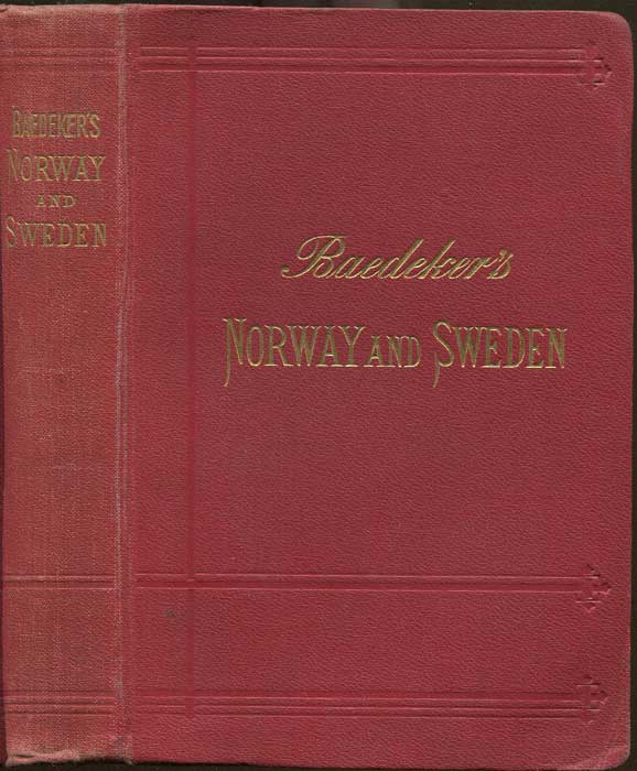 BAEDEKER Karl Norway, Sweden and Denmark, Handbook for Travellers