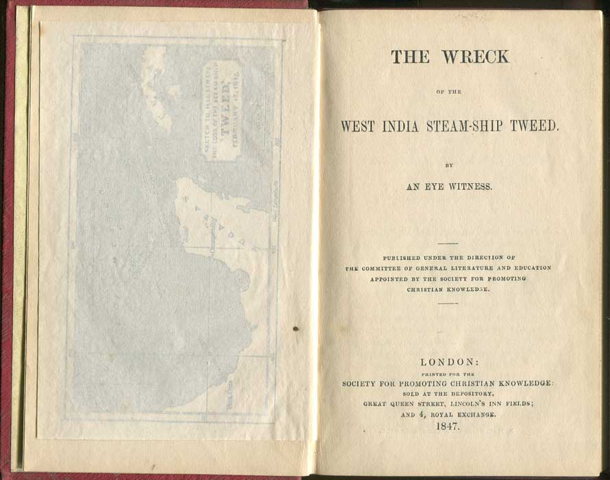 CAMERON John The Wreck Of The West India Steam-Ship Tweed