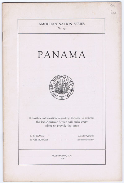 PANAMA Panama. - American Nation Series No. 15