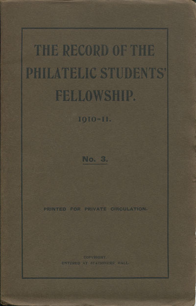 PHILATELIC STUDENTS