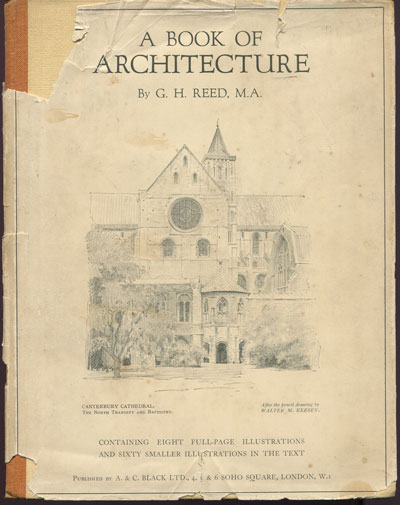 REED G.H. A book of architecture.