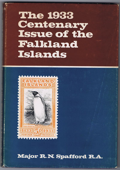 SPAFFORD Maj. R.N. The 1933 centenary issue of the Falkland Islands.