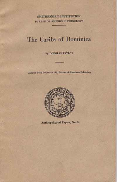 TAYLOR D. The Caribs of Dominica.