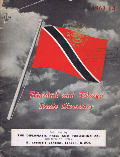 TRINIDAD Trinidad and Tobago Trade Directory. - 1963-64.