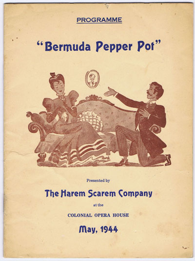 BERMUDA Bermuda Pepper Pot.