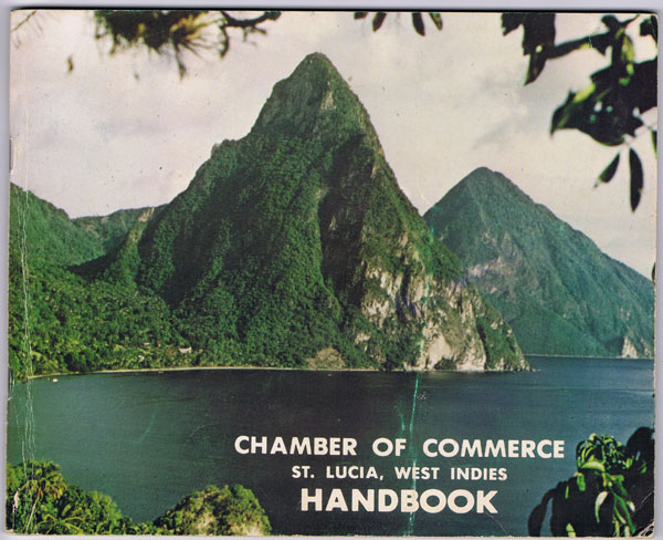 ANON St Lucia Handbook. - Trade, Tourism, Industry, Commerce.