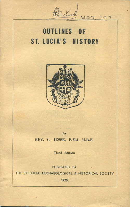 JESSE Rev. C. Outlines of St Lucia