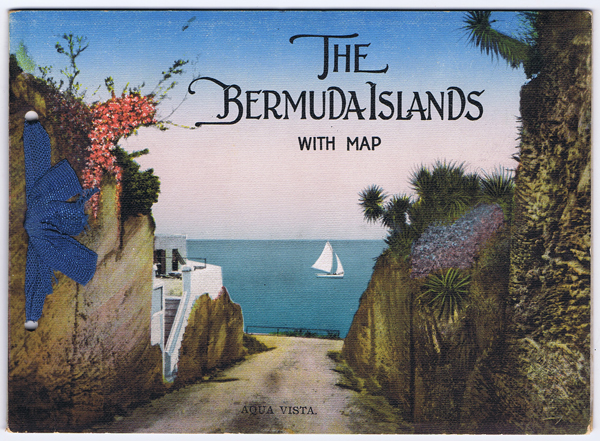 BERMUDA The Bermuda Islands with map.