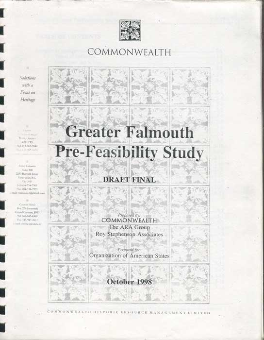 ARA GROUP Greater Falmouth Pre-Feasibility Study. Draft Plan.