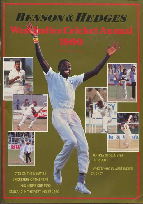 COZIER Tony Benson & Hedges West Indies Cricket Annual 1990