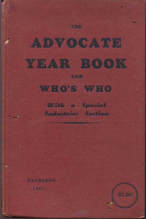 BARBADOS The Advocate Year Book and Who