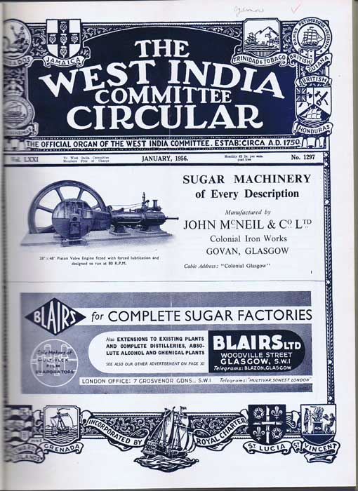 WEST INDIES The West India Committee Circular