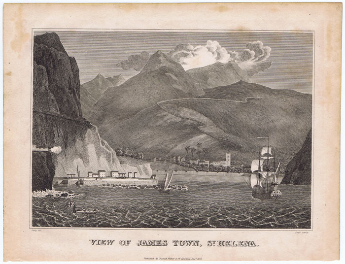 CRAIG View of James Town, St Helena.