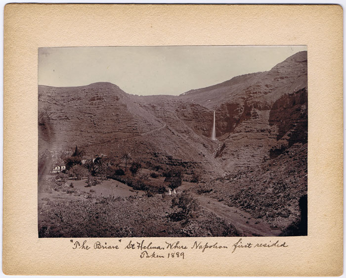 1889 The Briars, St Helena. Where Napoleon first resided.