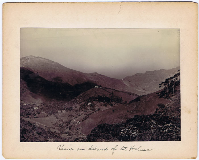 GRANT B. View on Island of St Helena.