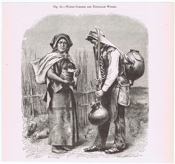ANON Water Carrier and Tortillas Woman.