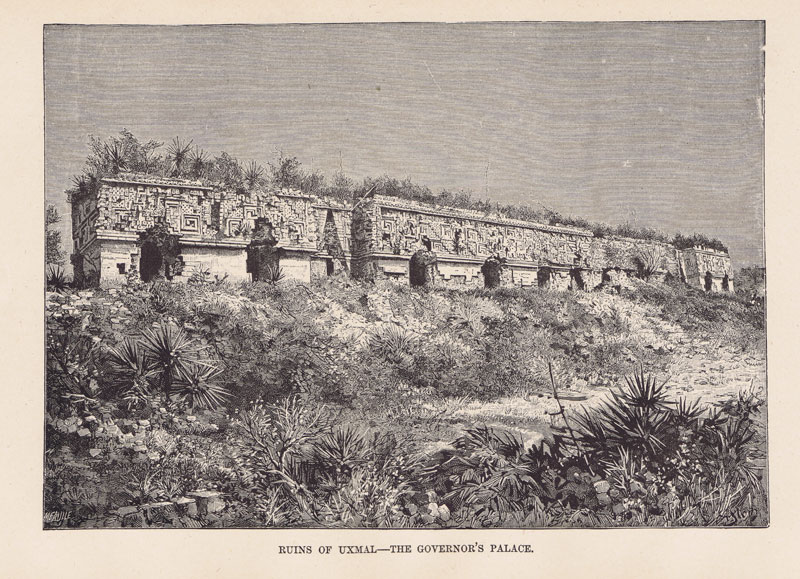 STON L. Ruins of Uxmal - the Governor