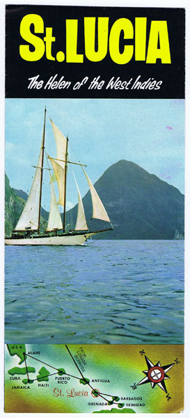 ANON St Lucia. The Helen of the West Indies.